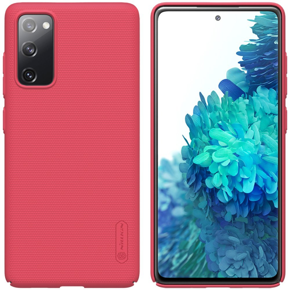 Nillkin Frosted Kryt Samsung S20 FE Bright Red