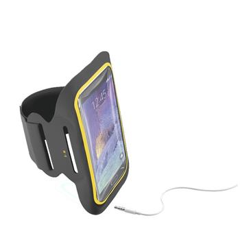 "CellularLine ARMBAND FITNESS, 5,5"", černé"
