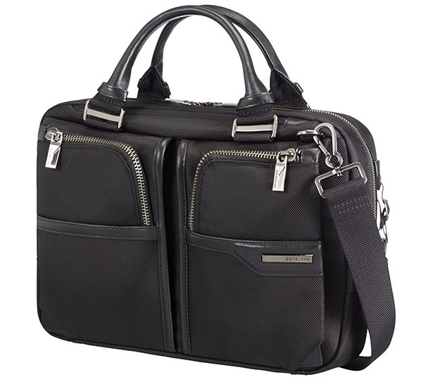 "16D*09003 Samsonite GT Supreme Bailhandle 14,1"" Black"