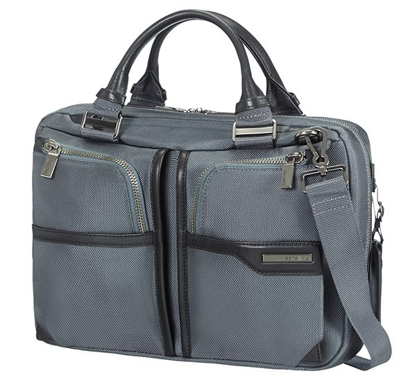 "16D*08003 Samsonite GT Supreme Bailhandle 14,1"" Grey"