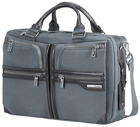 "16D*08005 Samsonite GT Supreme Bailhandle 2C 15.6""exp. Grey"