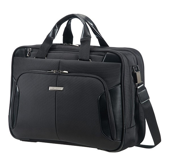 "08N*09008 Samsonite XBR BAILHANDLE 3C EXP 15.6"" Black"