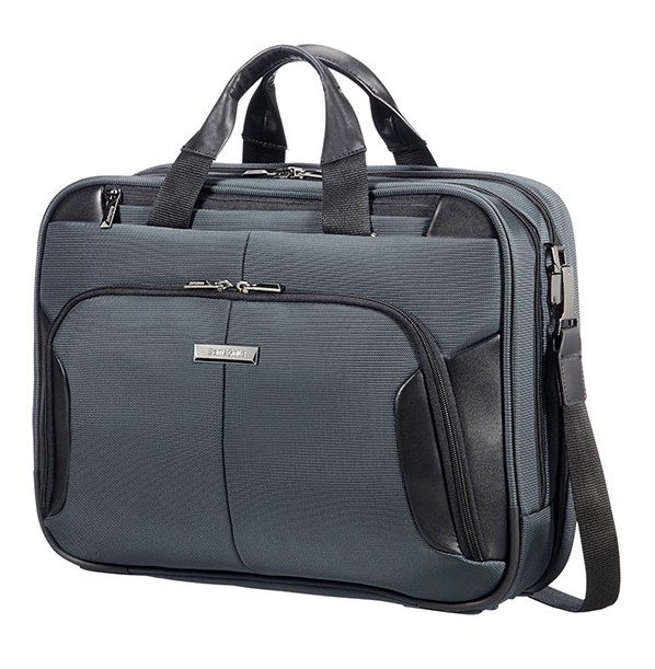 "08N*18007 Samsonite XBR BAILHANDLE 2C 15.6"" Grey/Black"