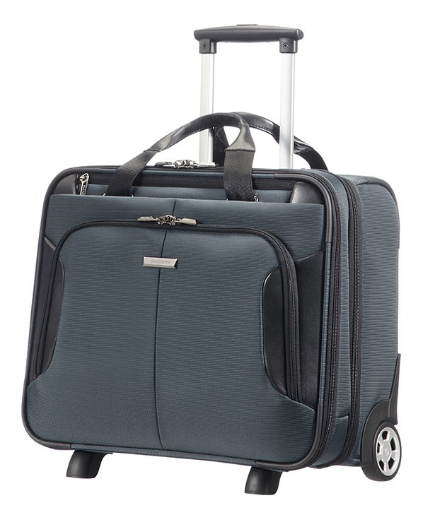 "08N*18012 Samsonite XBR ROLLING TOTE 15.6"" Grey/Black"
