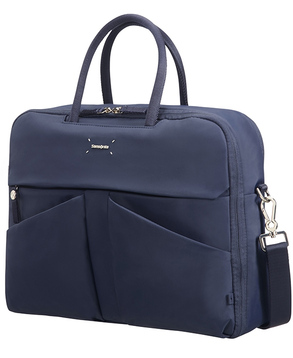 "43N*41002 Samsonite Lady Tech BAILHANDLE 15.6"" Dark Blue"