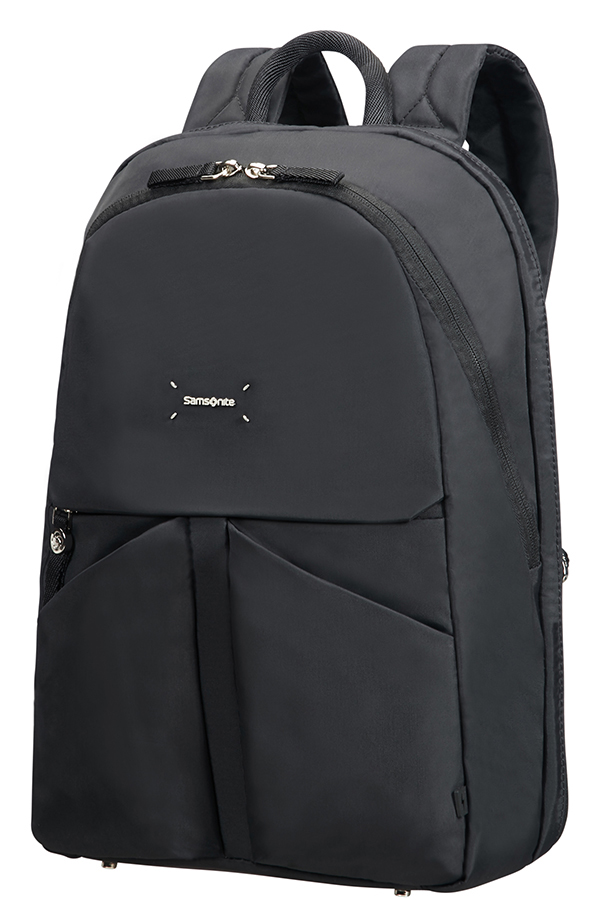 "43N*09003 Samsonite Lady Tech ROUNDED BACKPACK 14.1"" Black"