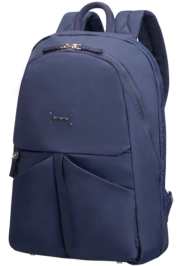 "43N*41003 Samsonite Lady Tech ROUNDED BACKPACK 14.1"" Dark Blue"