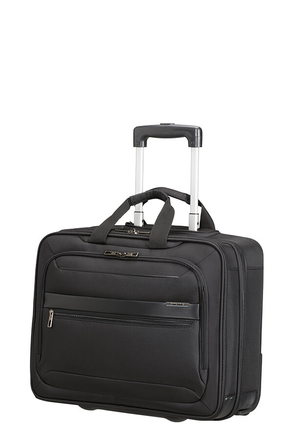 "CS3*09011 Samsonite Vectura EVO ROLLING TOTE 17.3"" Black"