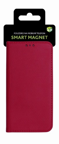Cu-Be Pouzdro s magnetem Samsung Galaxy A6 2018 Red