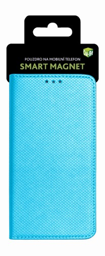 Cu-Be Pouzdro s magnetem Huawei Y7 Prime Turquoise