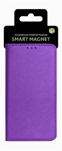 Cu-Be Pouzdro s magnetem Xiaomi Note 5A Purple