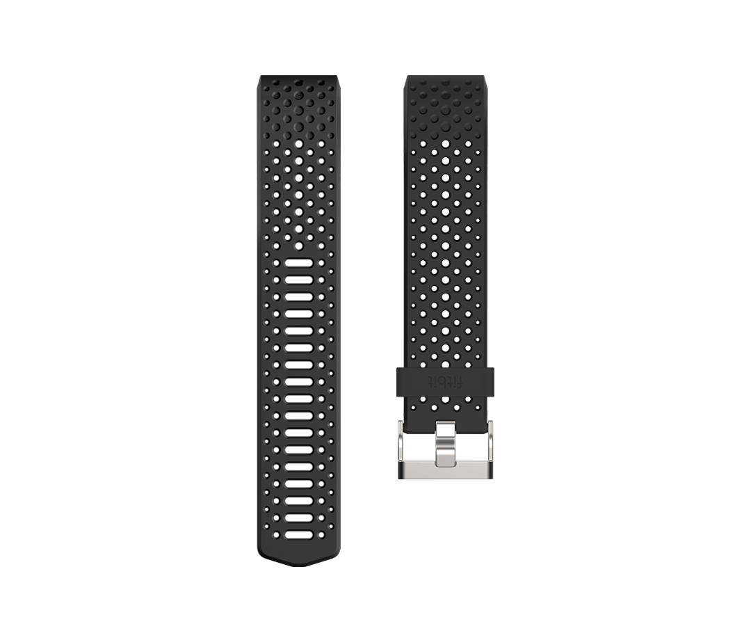 Fitbit Charge 2 Sport Band Black - Large