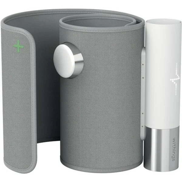 Withings Blood Pressure Monitor Core w Wifi sync, Led screen, ECG sensor, Digital stethoscope
