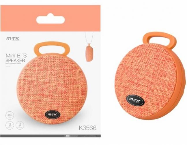 Bluetooth Mini Speaker PLUS K3566 orange