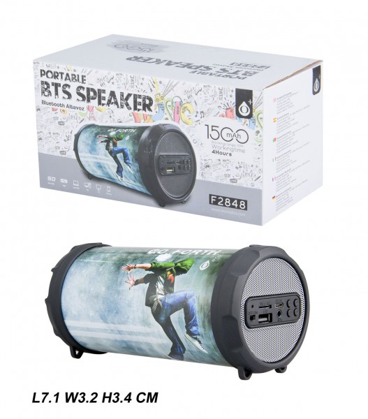 Bluetooth Portable Speaker PLUS Mini F2848, Hi-pop