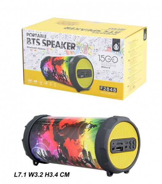 Bluetooth Portable Speaker PLUS Mini F2848, Party
