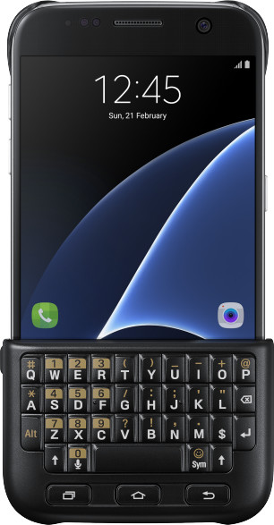 Samsung Keyboard Cover pro S7 (G930) Black