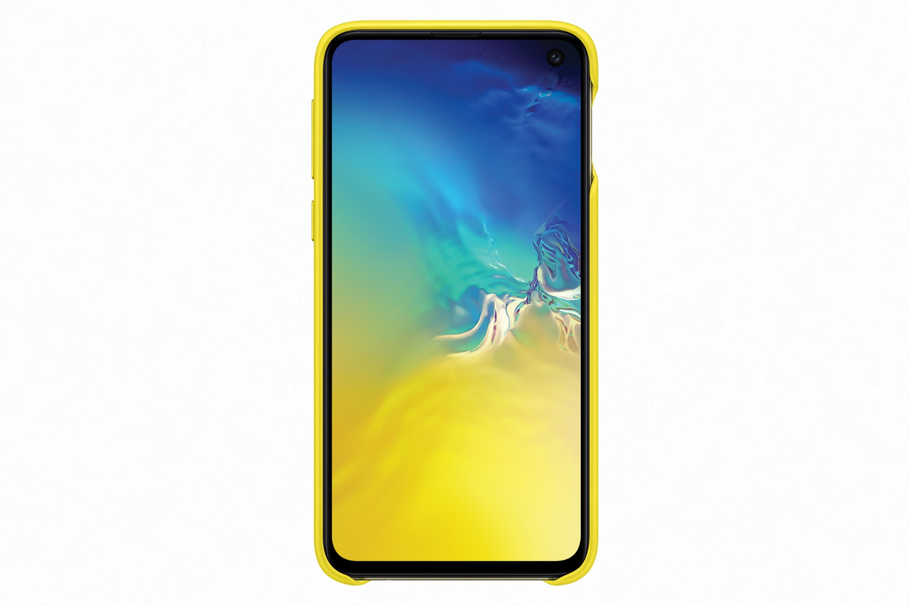 Samsung Leather Cover S10e Yellow