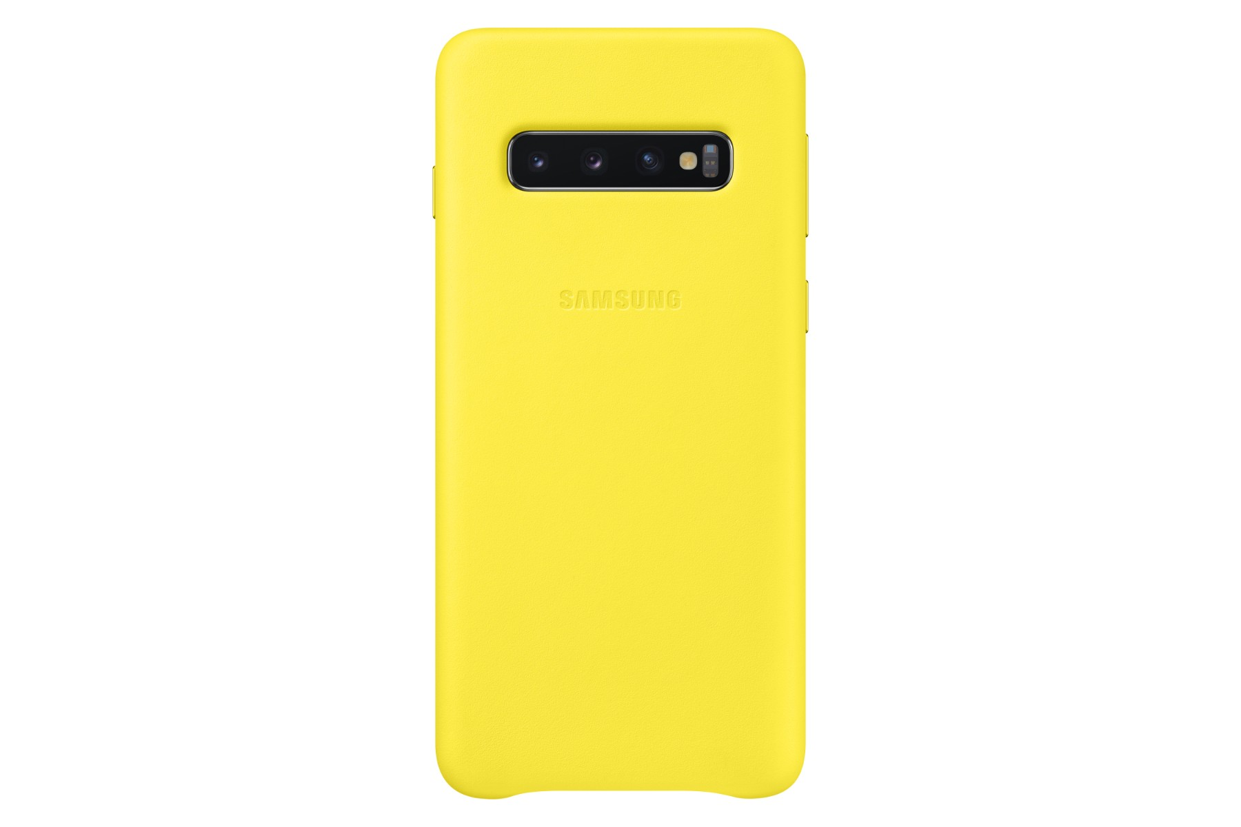 Samsung Leather Cover S10 Yellow