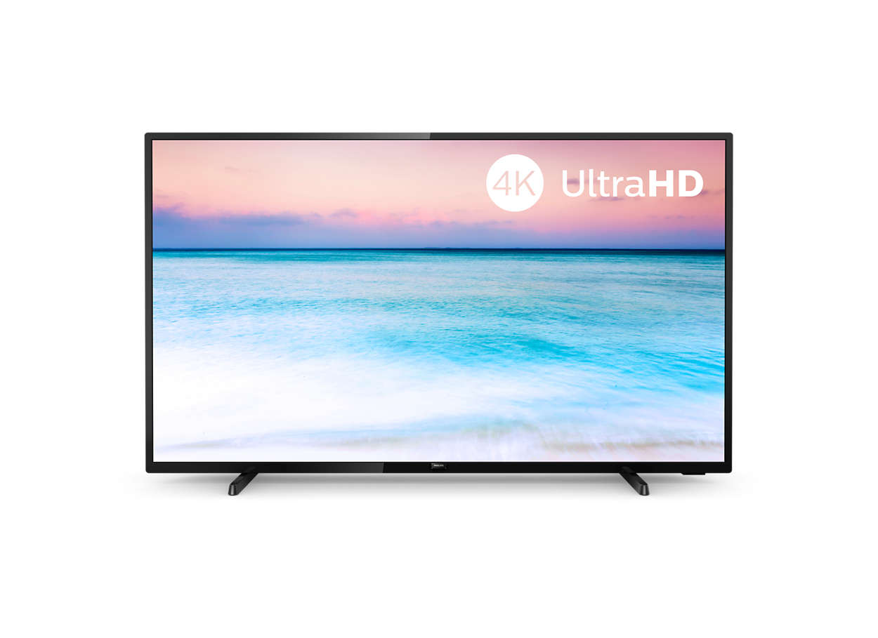 "Philips 65"" LED 65PUS6504 4KUHD, DVB-T2/C/S2"