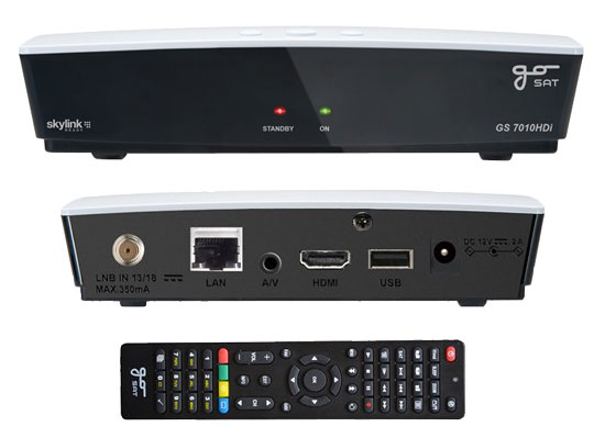 GoSAT GS-7010 HDi Skylink Ready