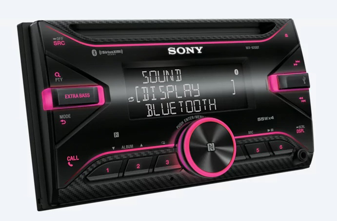 Sony CD receiver WX-920BT, BT,NFC