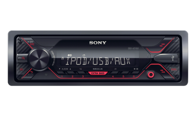 Sony autorádio DSX-A410BT bez mechaniky,USB,