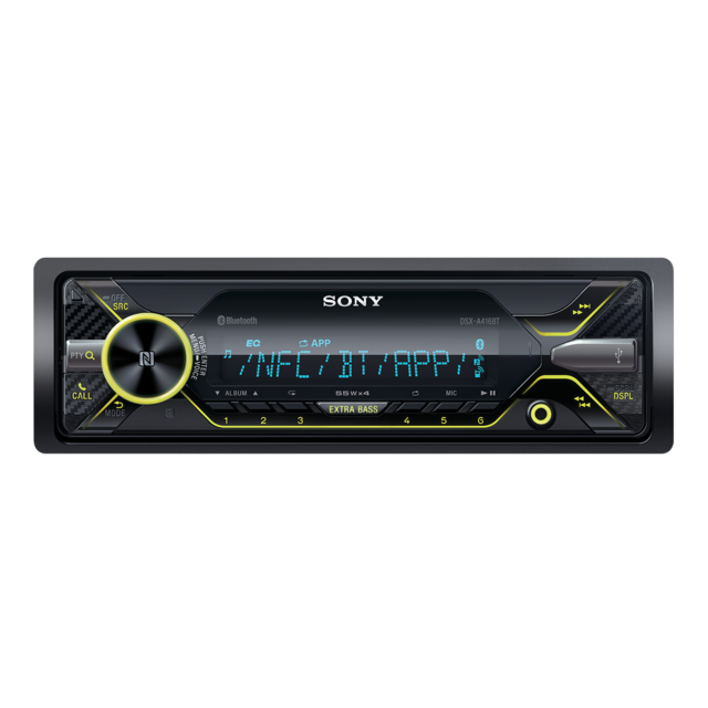 Sony autorádio DSXA416BT/AUX,USB,NFC,BT,iPODcontr.