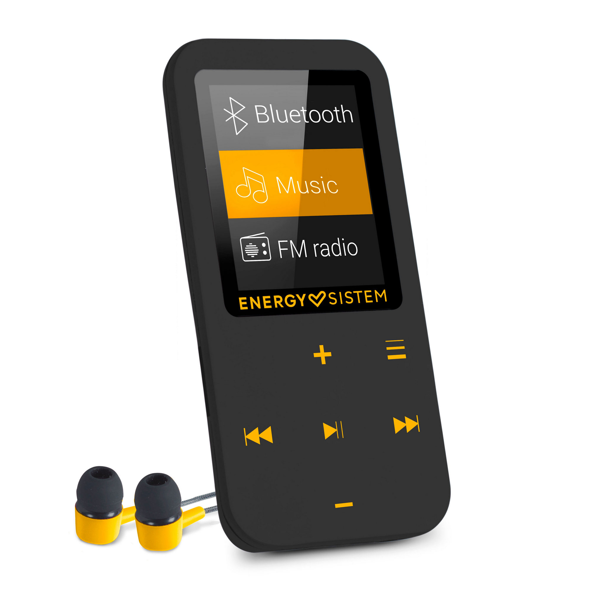 "Energy Sistem MP4 Touch Bluetooth Amber MP4 přehrávač s Bluetooth, 1,8"" LCD, mikro SD, MP3, FLAC, WM"