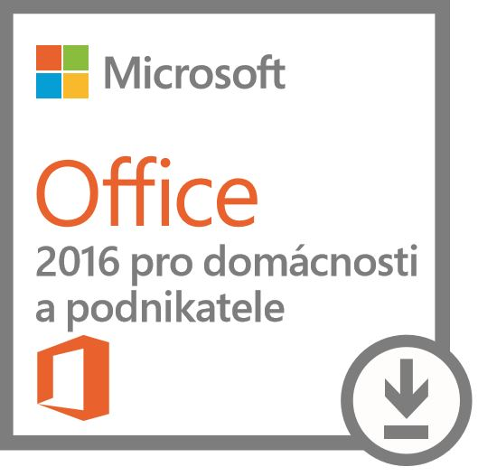 DELL OEM Microsoft Office Home & Business 2016 - pouze k HW Dell -doprodej