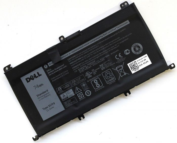 451-BBPZ Dell Baterie 6-cell 74W/HR LI-ION pro Inspiron 7559, 7566, 7567