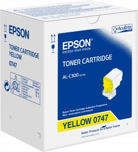 Toner Cartridge Yellow pro Epson WorkForce AL-C300