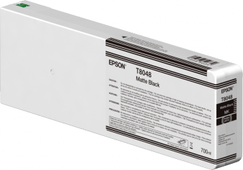 Epson Matte Black T804800 UltraChrome HDX/HD 700ml