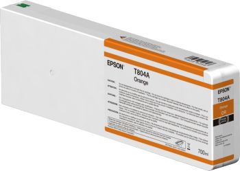Epson Orange T804A00 UltraChrome HDX 700ml