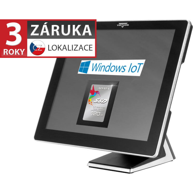 "AerPOS PP-9617, 17"" LCD LED, kapacitní touch"