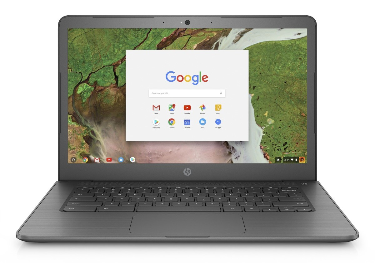 "3GJ76EA#BCM HP ChromeBook 14 G5 14"" FHD N3350/4GB/32GB/Chrome"