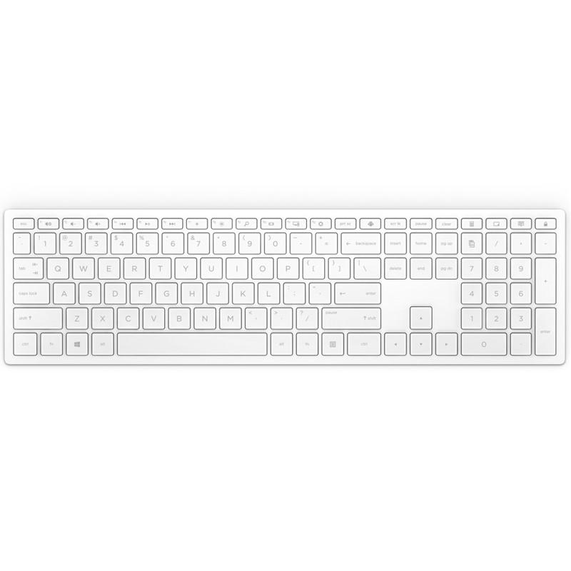 HP Pavilion Wireless Key 600 White DE