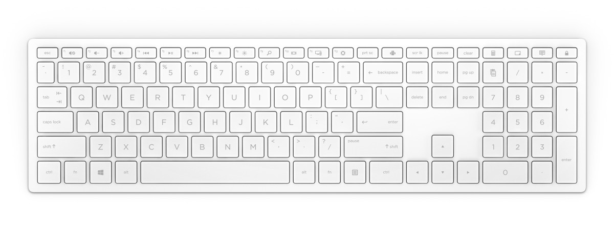 HP Pavilion Wireless Key 600 White CZ