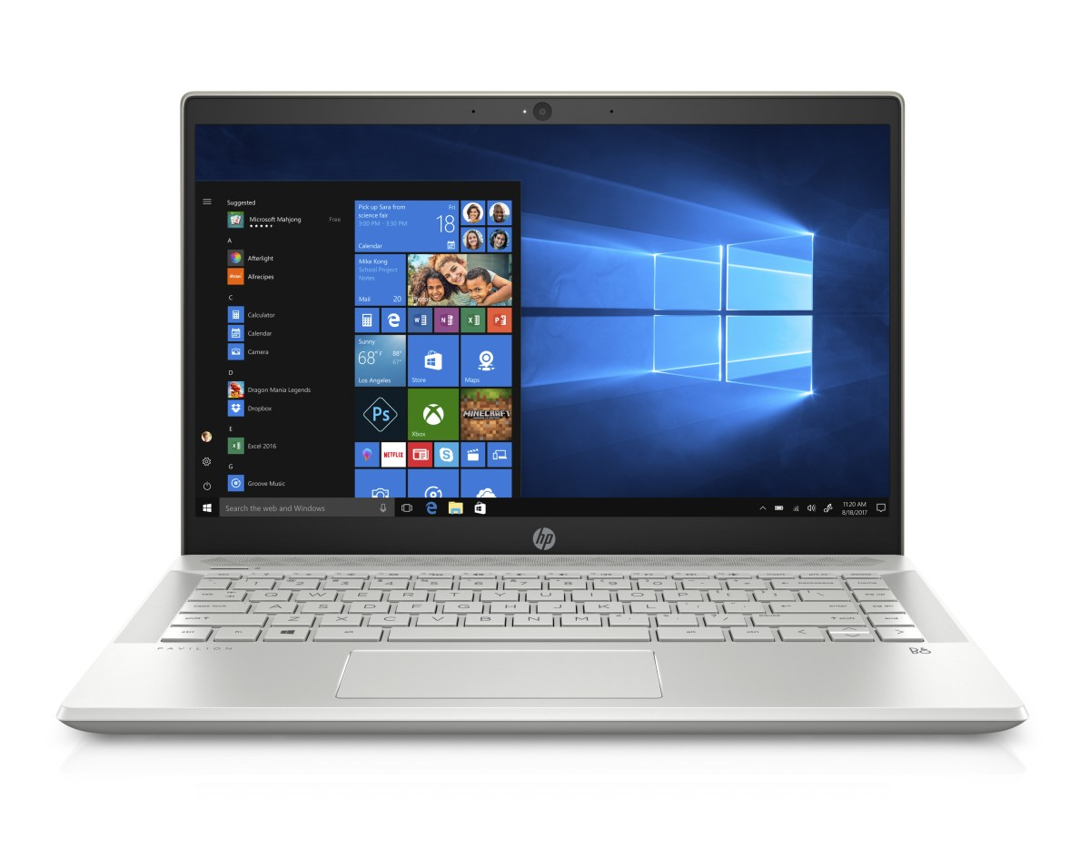 4MG75EA#BCM HP Pavilion 14-ce0005nc FHD i3-8130U/8GB/1TB+128SSD/2RServis/W10-gold