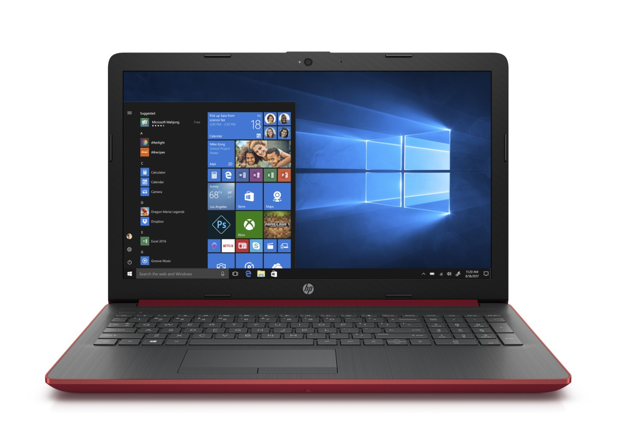 4MH60EA#BCM HP 15-da0028nc FHD N5000/8GB/256SSD/NV/DVD/2RServis/W10-red