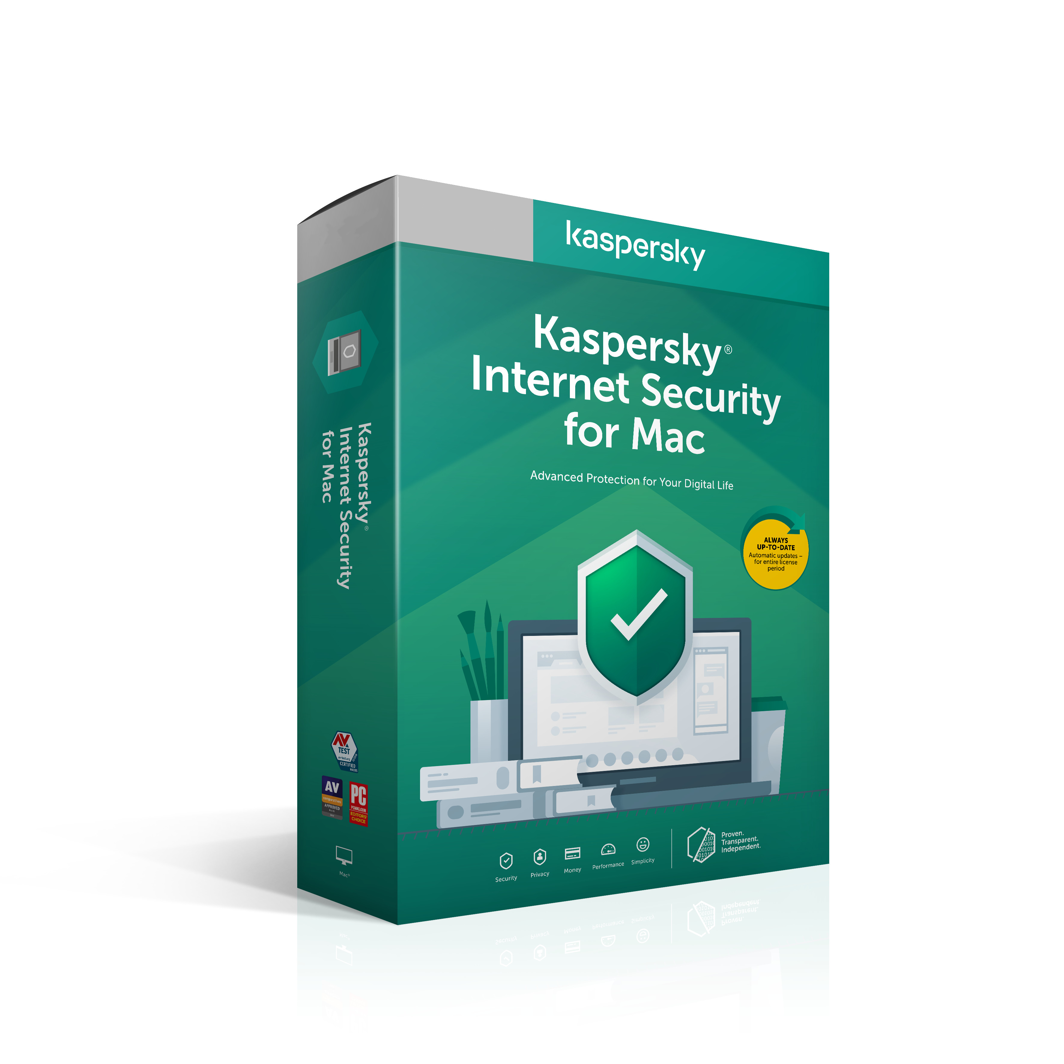 Kaspersky Internet Security Mac 3x 2 roky Nová