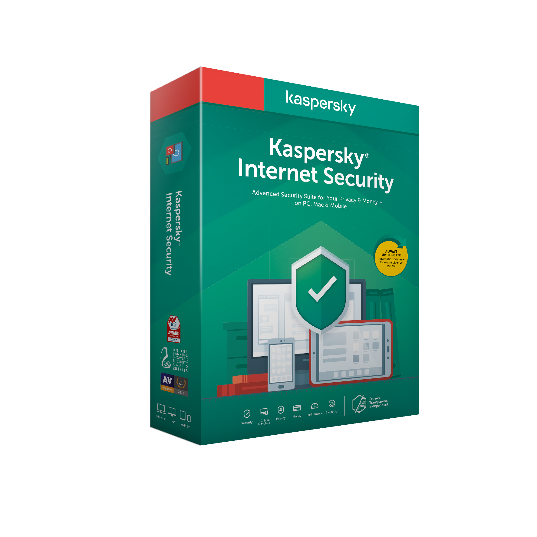 Kaspersky Internet Security 3x 3 roky Nová