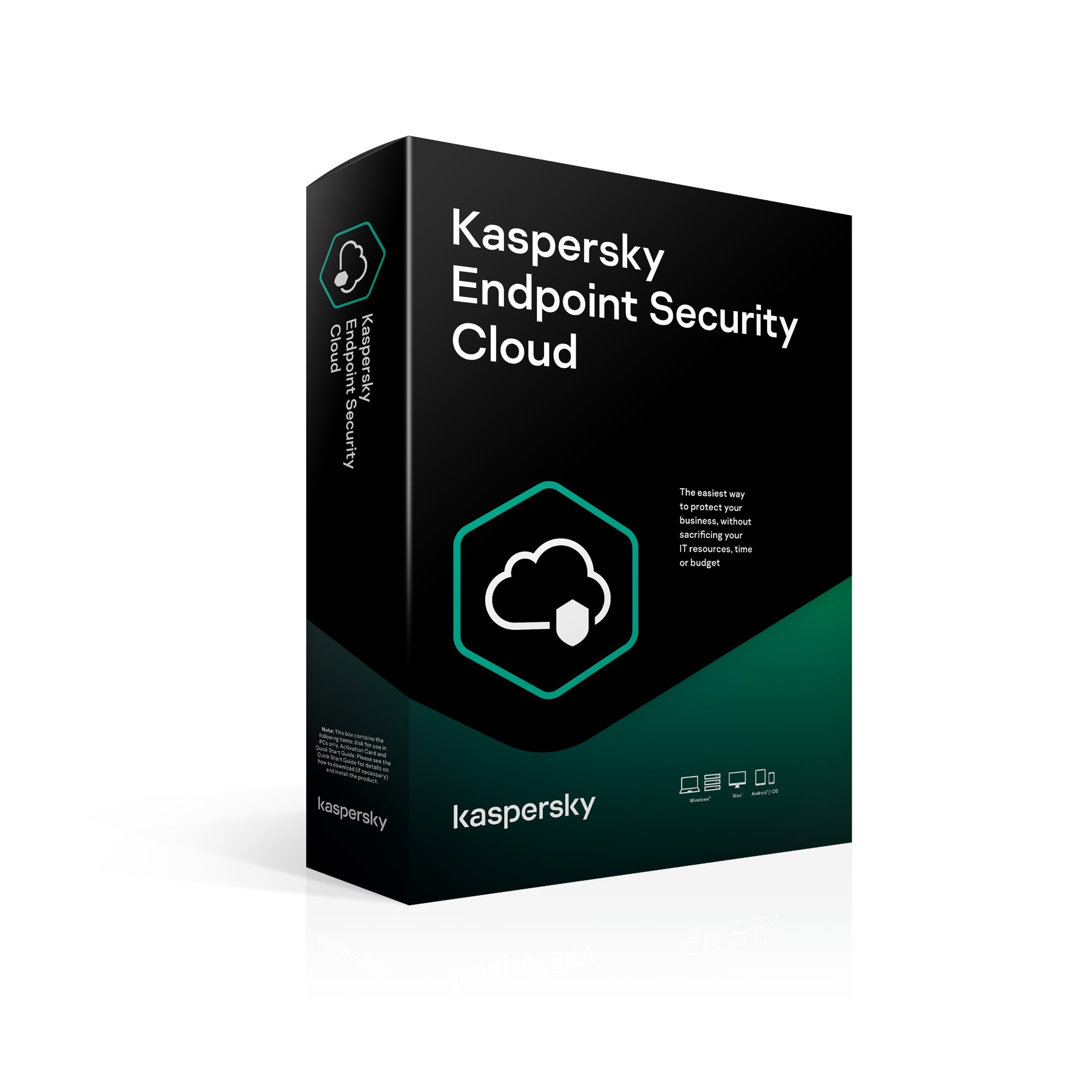 Kaspersky Endpoint Cloud 20-24 Workstation / FileServer; 40-48 Mobile 3 year Nová