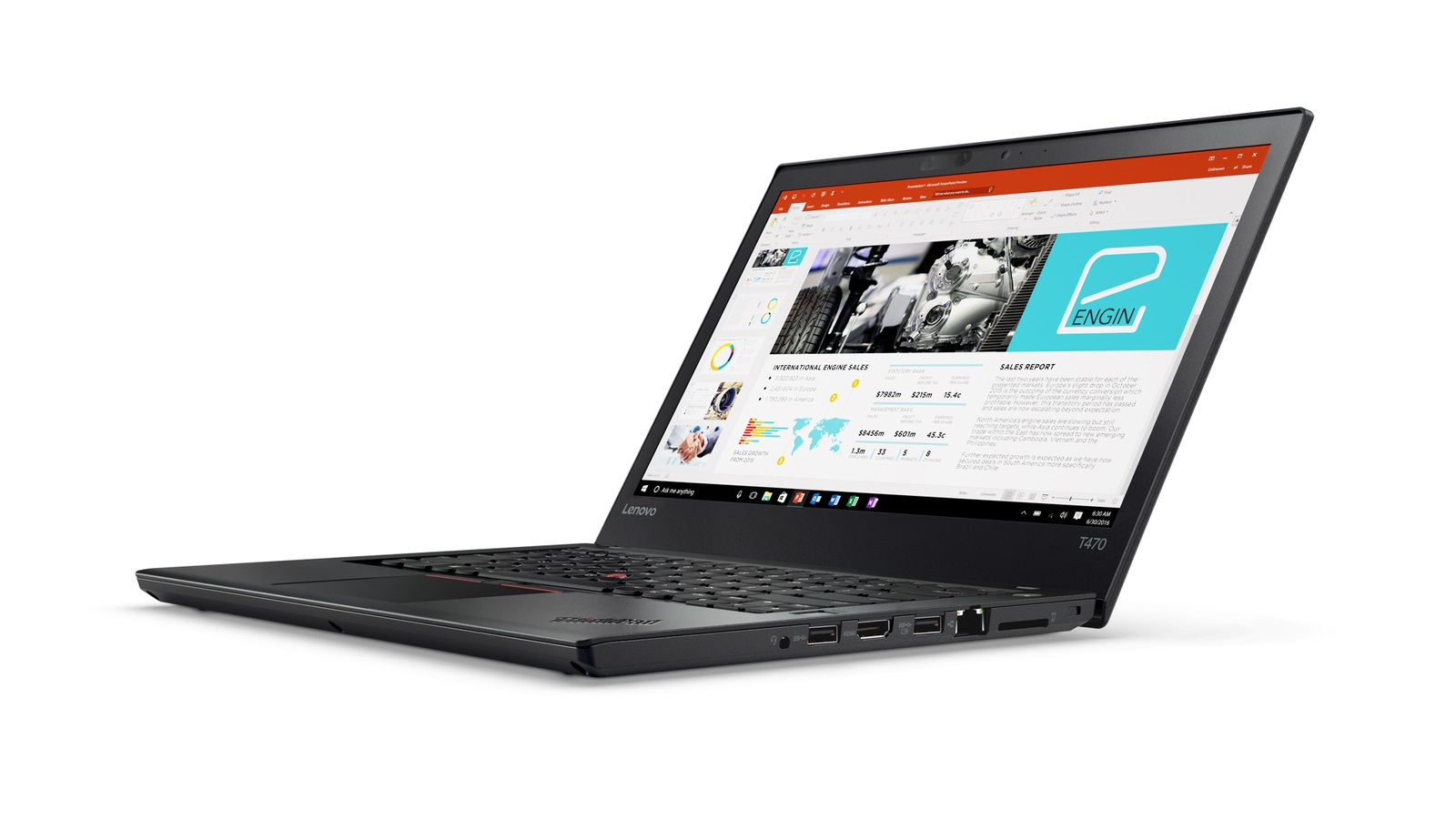 20HD000LMC Lenovo Thinkpad T470 14F/i7-7600U/8GB/256SSD/Intel HD Graphics/F/W10P/černý