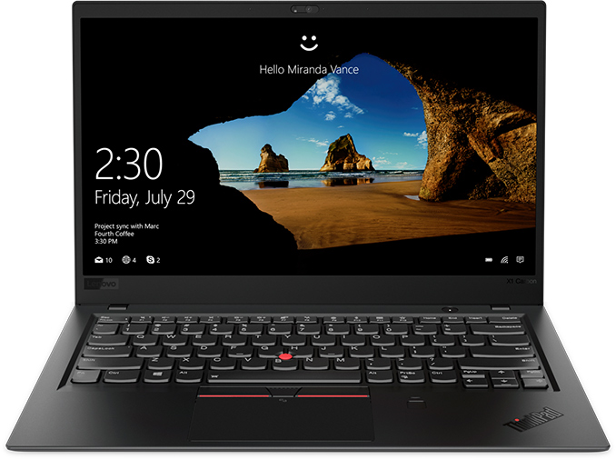 20KH0035MC Lenovo Thinkpad X1 Carbon 6 14FH/i5-8250U/8GB/256/Intel UHD/W10P/černý