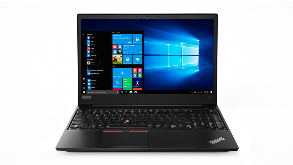 20KS003GMC Lenovo Thinkpad E580 15.6F/i5-8250U/8GB/1T+256/F/Intel UHD/W10P/černý