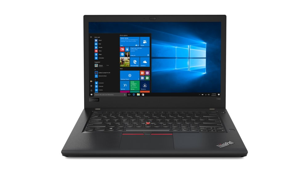 20L5000AMC Lenovo Thinkpad T480 14F/i7-8550U/16GB/512/ Intel HD /F/W10P/černý