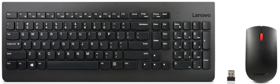 Lenovo Essential Wireless Keyboard & Mouse US