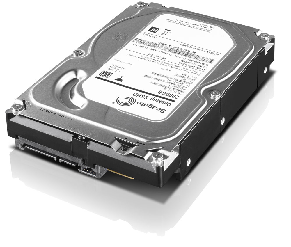 "ThinkStation 2TB SATA 3.5"" Hybrid HDD"