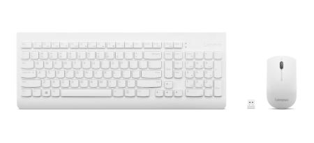 510WirelessComboKeyboard&MouseWhiteUS English103P
